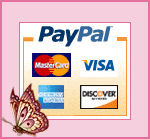 We accept credit cards though Paypal!