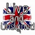 Live and Unsigned logo