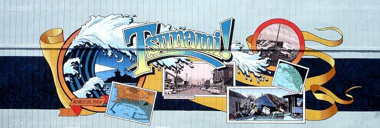 Tsunami Mural