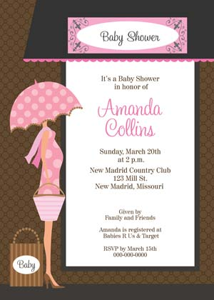 Baby Shower - Boutique in Pink