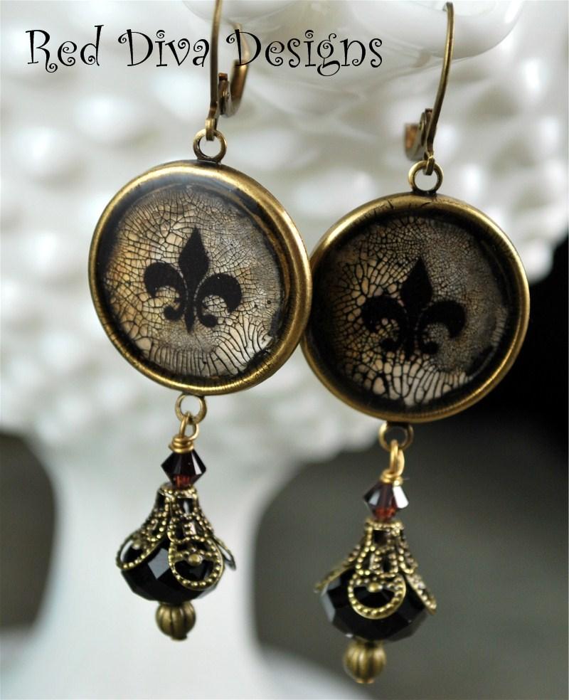 Bourbon Earrings