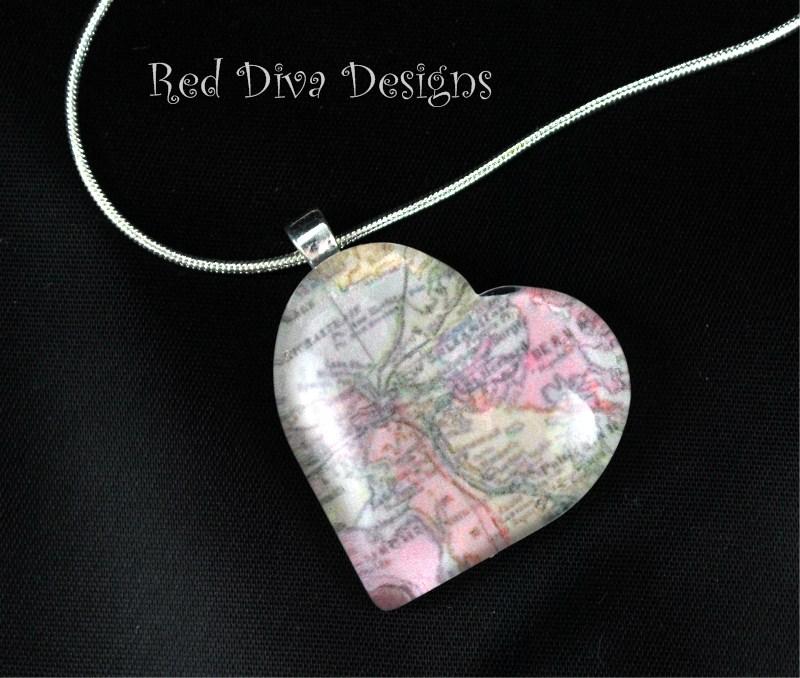 NOLA Map Heart