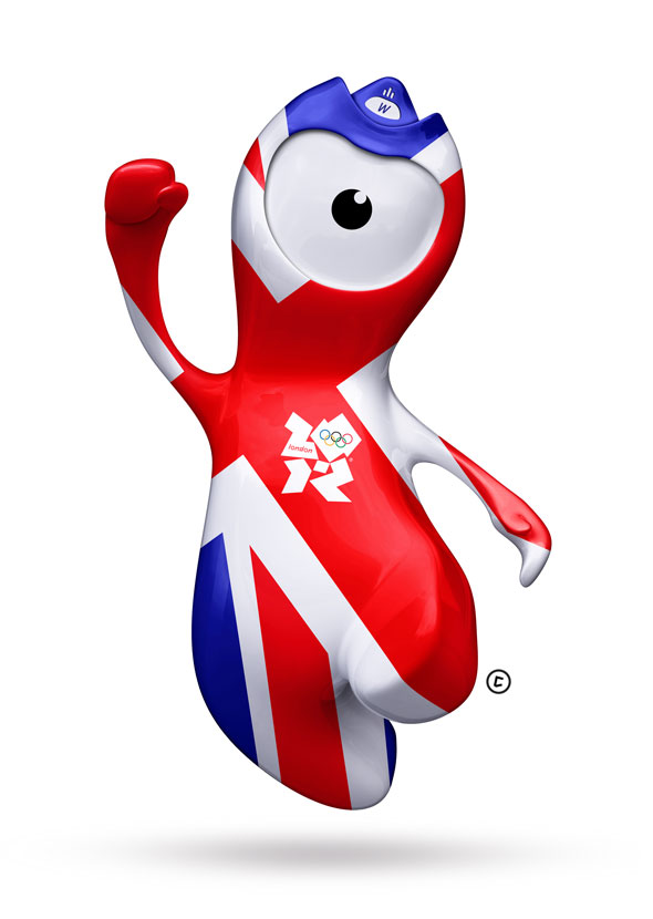 wenlock and mandeville olympic mascots