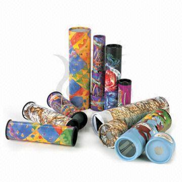 printed kaleidoscopes