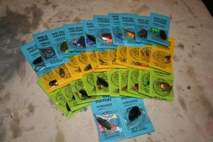 Top quality spinners for catching Steelhead Trout