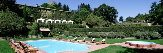 Swimming Pool - Schloss Santa Cristina