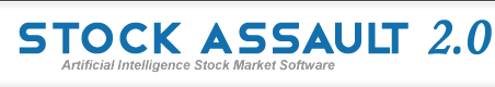 Stock Assault 2.0 - Artificial Intelligence Stock Market Software