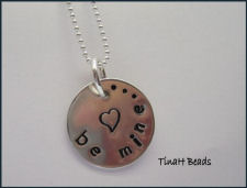 Be Mine... sterling silver necklace