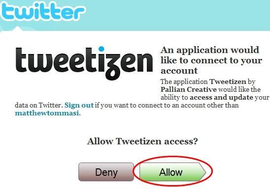allow tweetizen