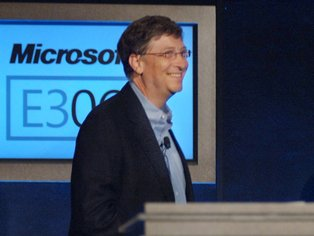 Bill Gates Last day as boss of Microsoft today