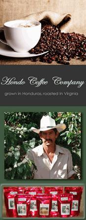 Hondo Coffee: Grown in Honduras, Roast in Virginia