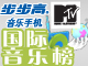 MTV国际音乐榜