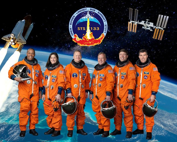 The Crew of STS-133