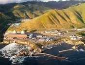 The Diablo Canyon nuclear power plant