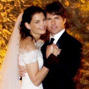 TomKat Official Wedding Photo