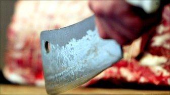 Butchers knife
