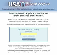 USA Phone Lookup