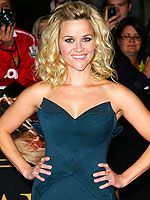 Reese's Flirty Premiere Frocks   Reese Witherspoon