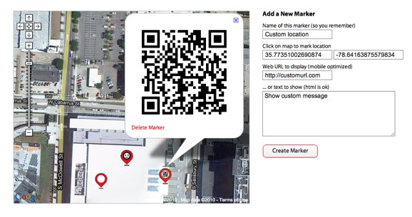 Custom TriOut check-in QR Code