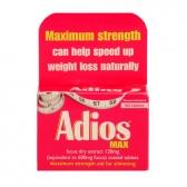 adiosmax fat burner1 Best Fat Burners Compared