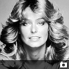 Promotional portrait of American actress Farrah Fawcett for the television program 'Charlie's Angels, mid 1977. (Photo by Pictorial Parade/Getty Images)