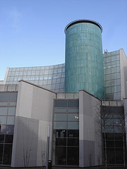 The saltire centre at Glasgow Caledonian University