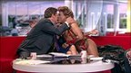 Charlie Stayt and Cassandro