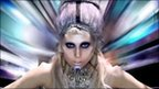 Lady Gaga in the video for Born This Way