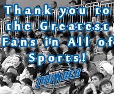 Thank You for a Great Season and Being the Greatest Fans in All of Sports!