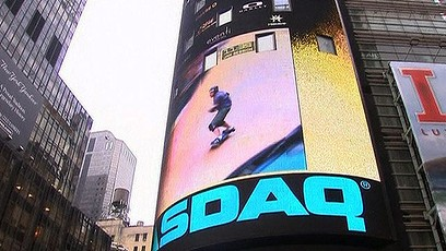 Thrills and spills: BMX riders hit Times Square (Video Thumbnail)