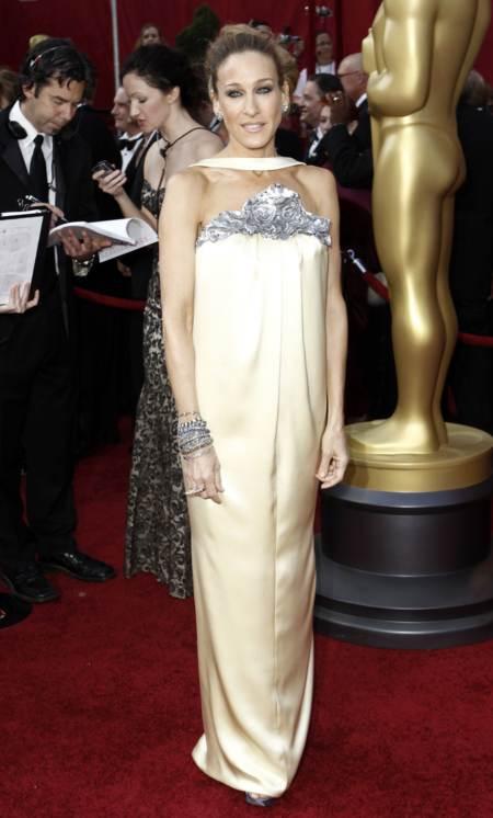 Sara Jessica Parker con un vestido de gala de Chanel