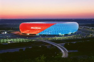 allianz arena 300x200 Top 10 beautiful stadiums in the world