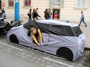 auto tent 300x222 Top 10 Creative and Unusual tents