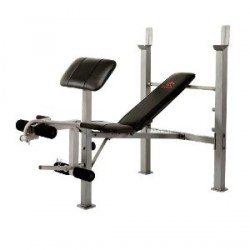 weight bench with arm curl