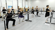Ballet class for seniors shows power of the pirouette