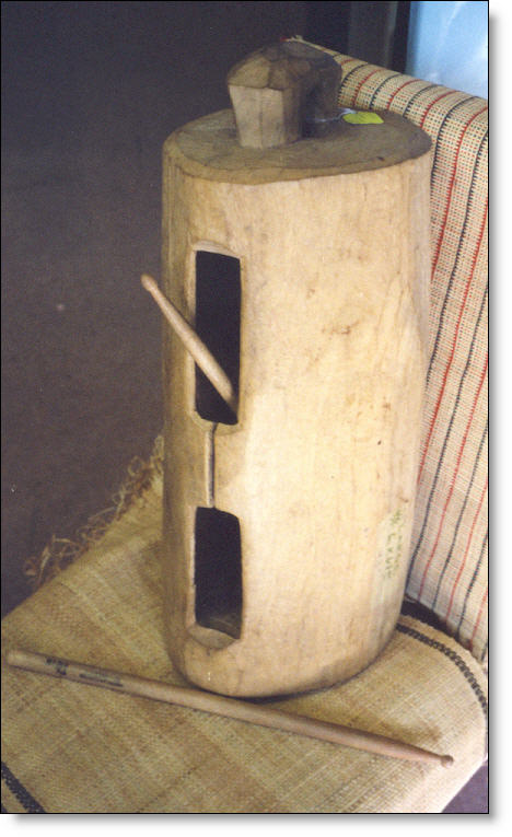 Ekwe = Wooden Drum