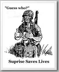cartoon suprise saves lives army