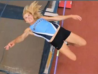 Lydia French: Moorpark's star high jumper