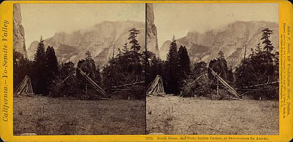 Yosemite Paiute Caches and South Dome.