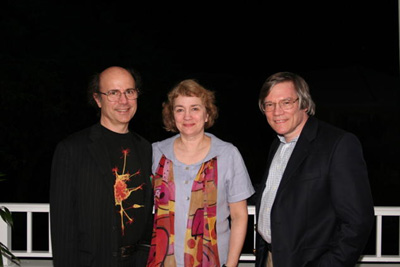 Frank Wilczek, Betsey Devine and Alan Guth