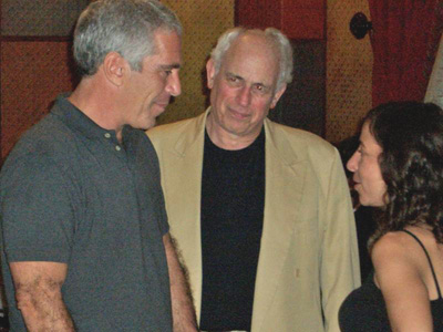 Jeffrey Epstein and John Brockman