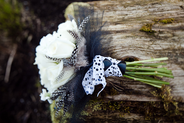 Old, Borrowed & Blue - black swan inspired wedding photoshoot 13