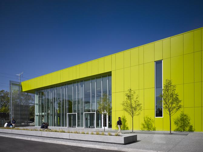 Kiến trúc trường học Gary Comer - John Ronan Architects
