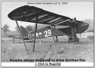 decoy fake dummy spotter plane piper cub wwii