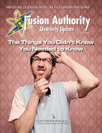 Fusion Authority Quarterly Update - Latest Issue - Volume 3, Issue 2