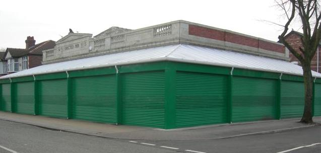 Retractable Gate Security from Nottingham Roller Shutters
