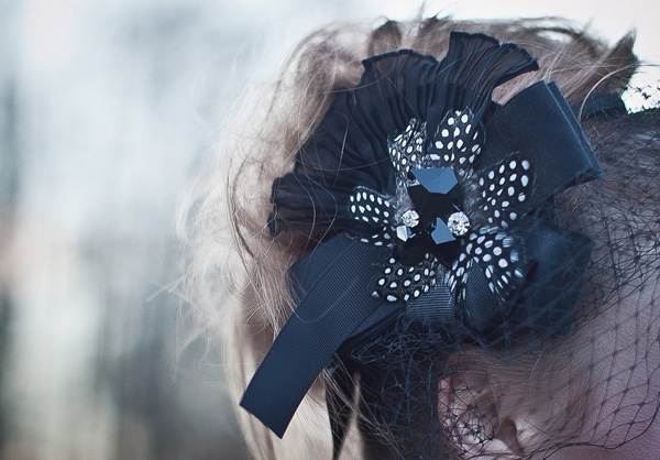 Old, Borrowed & Blue - black swan inspired wedding photoshoot 22