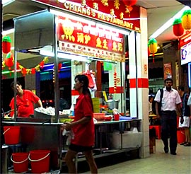 Chinese Singapore Food