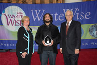 Seven-Star accepts EPA WasteWise Award