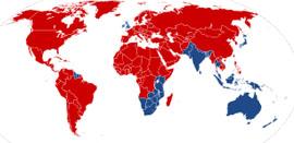 rojo=derecha azul=izquierda (nada que ver con la política)